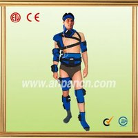 Rechargeable battery operation therapeutic tourmaline infrared heat thermal sports body pad
