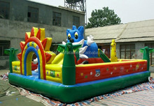 Kids indoor playground amusement park items for sale inflatable castle playground