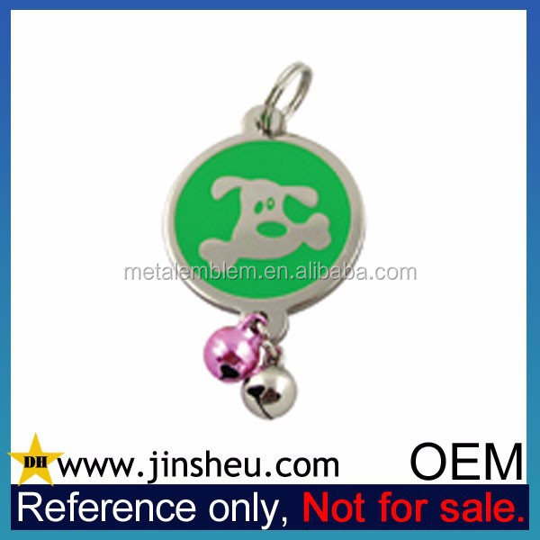 Wholesale Cheap Custom Logo Metal Pet ID Tags