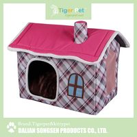 China high quality new arrival latest design pet product padded pet house