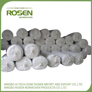 RS NONWOVEN high strength needle punched polyester non woven raw material