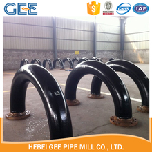new products pipe bend with black painting