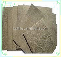 Washable Sintered Metal Fiber Filter Media for Hydraulic and Lubricant oil Filtration
