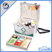 MLD-FAC100 Professional OEM Sturdy Portable Military Aluminum Medical Emergency Survival Kit