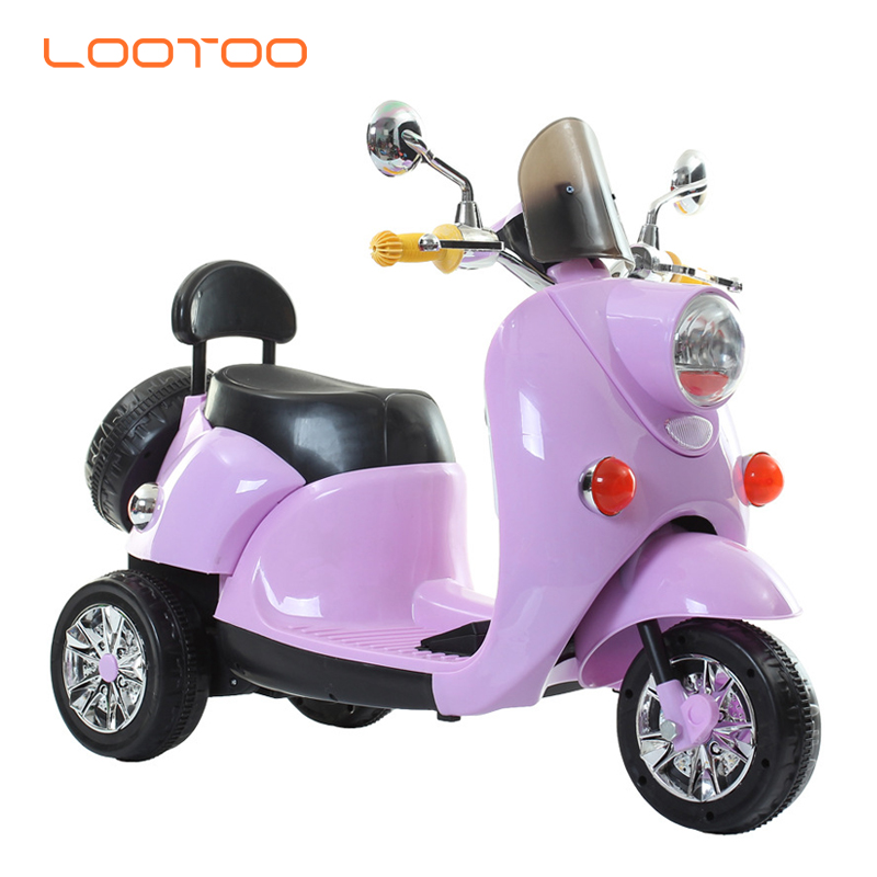 Best selling battery operated small three wheel electric riders bikes toddler motorized scooter for 7 8 yr old girl