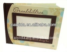 high quality frame cover book printing