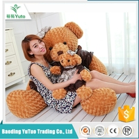 fashiobale Top quality cheap lovely plush bear toy for 200cm