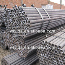black powder coated galvanized steel pipe