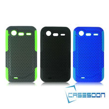 NEW Hybird MESH SILICONE Combo CASE FITS HTC Incredible S G11 S710e Mesh Combo Case