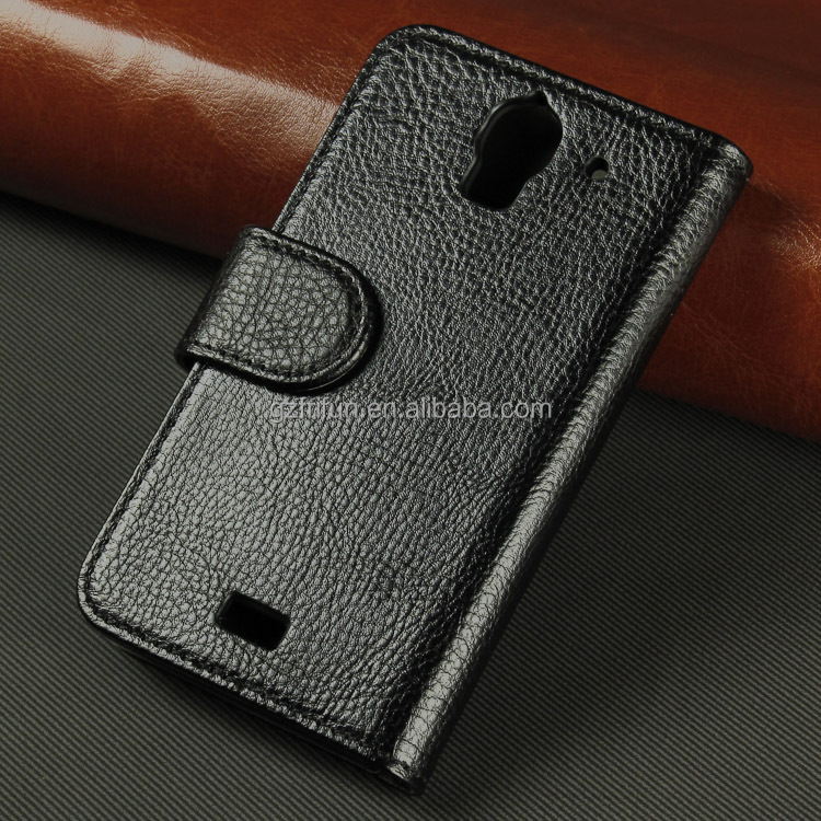 lastest china factory cheap pu cell phone case for huawei Y 360 beautiful real touch leather case for brand phone
