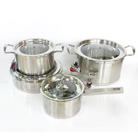 3 pcs Stainless Steel Insulated Casserole Set For Camping