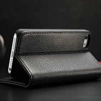 Hot selling Sublimation for Iphone 5 Two Mobile Phones Leather Case