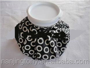 black and white cloth ice bag,6inch, 9inch, 11inch