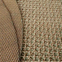 brass architectural decoration wire mesh