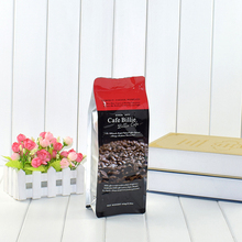 Custom Food Grade Resealable Foil Lined Side Gusset Flat Bottom Coffee Plastic Packaging Bags with Ziplock/ Valve