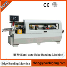 Semi-automatic edge bander/other woodworking machine
