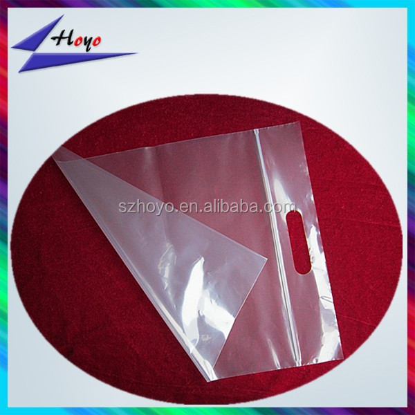 new product plastic pe cloth packing bag with handler