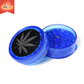 JL-226J Colorful Plastic Grinder for Spice Tobacco Herb with Magnetic Top