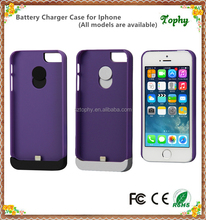 Li-Polymer battery Power Case External Battery Backup Power Case Charger Cover Pack Power Bank for iPhone 5/5s/5C