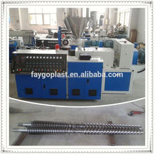 pvc single wall corrugated pipe making machine pvc spinneret carpet production line