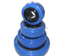 any size rubber/plastic caster wheel for trolley wheel