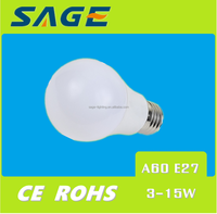 E27 A60 HIGH LUMIN WARM LIGHT LED BULB ENERGY SAVING LED