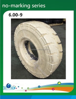 top 10 tyre brands huge solid tire, 6.00-9 solid tire white rubber