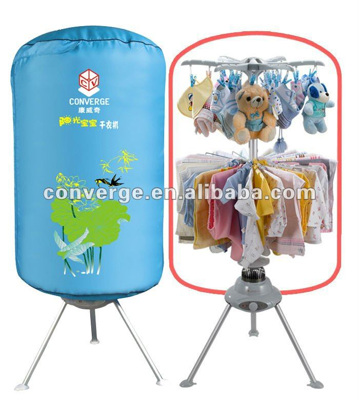 converge sunshine baby automatic clothes dryer portable,ETL latest baby clothes dryer for Canada & USA