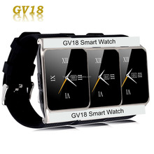 Smart Watch GV18 Clock Sync Notifier Support Sim Card Bluetooth Connectivity for mobile phone