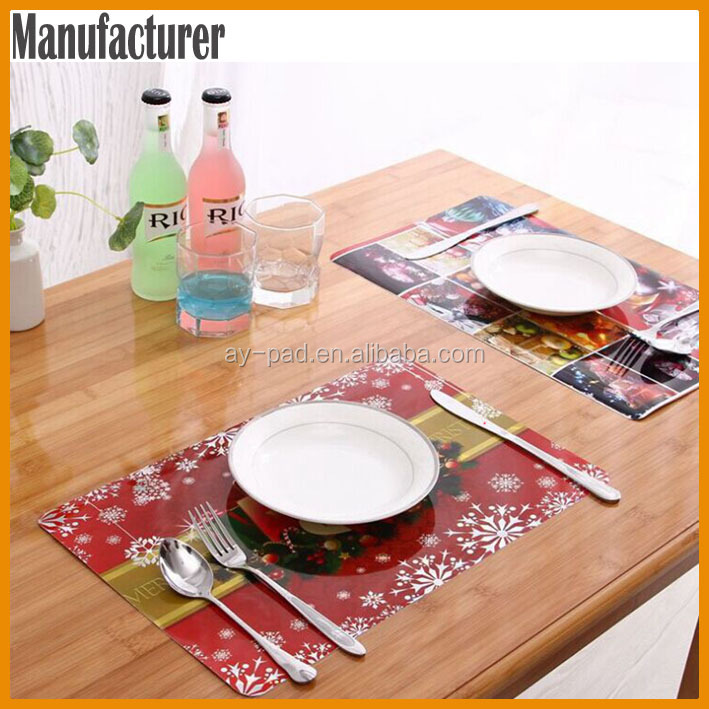 AY Colorful Center Dining Table Mat, Plate Mat For Table Accessories