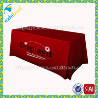 Factory Wholesale 100% Polyester Customized Logo Printed Promotional Table cloth