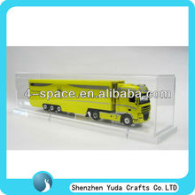 Clear plastic display cases for model cars