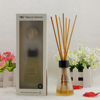 wholesale 80ml home fragrance reed diffuser with rattan stick and sola flower