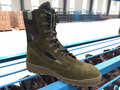 sage green suede leather camouflage jungle style army fighting boots for 2017