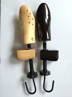 high quality painted wooden shoe stretcher and shoe tree