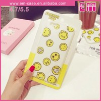 Facial Expression TPU Jelly Case For iPhone 5/6/6 Plus Ultrathin Soft Case
