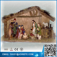 Holy Family Figurine resin religious craft nativity set