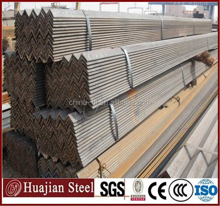 s235jr hot dip galvanized steel angle with hole equal angle iron used for construction