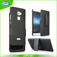 Hard Plastic Back Cover with belt clip case for Huawei Mate s