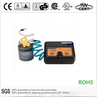 tire repair kit, tire sealant and inflator of spare tire replacement