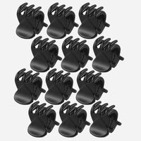 Fashion Women crab Hair claw clip Girls Black Plastic Mini Hairpin Claws Clamp For Gifts