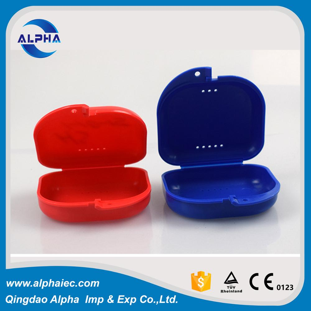 new dental denture box retainer case