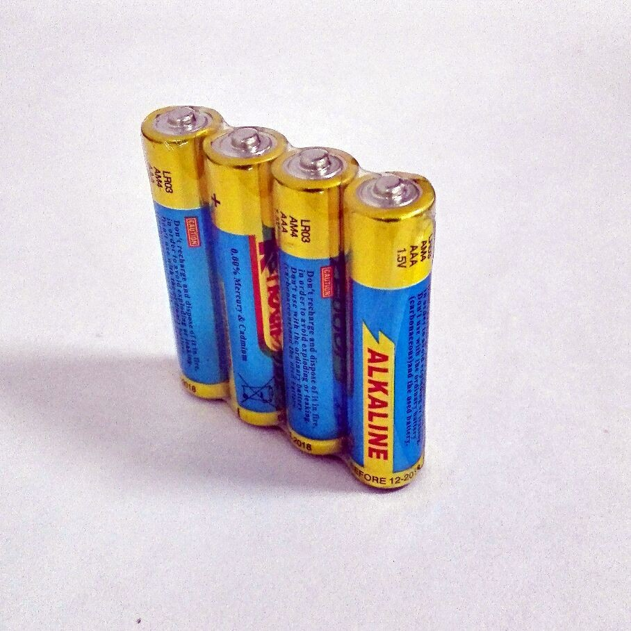 Zn/MnO2 Battery Type alkaline battery AAA