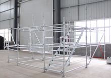 Hot dip Galvanizing Steel Ringlock system Scaffolding material