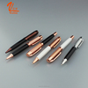 Rose Gold Twist Heavy Metal Ballpoint