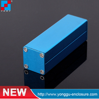 YGS-001 25*25*80mm Small aluminum extrusion profile cases for PCB /audio/video/digital