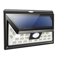 24 LED Solar Powered Motion Sensor