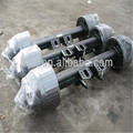 High quality china trailer 16t germany type axle with ISO