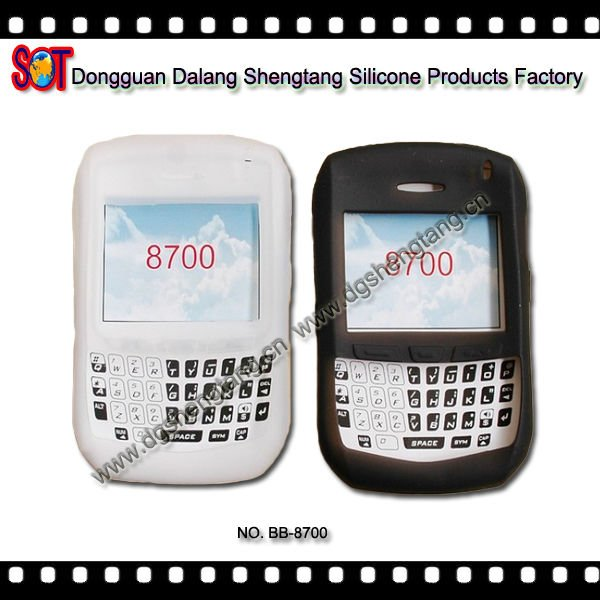 Cheap Silicone Phone Cases for Blackberry 8700