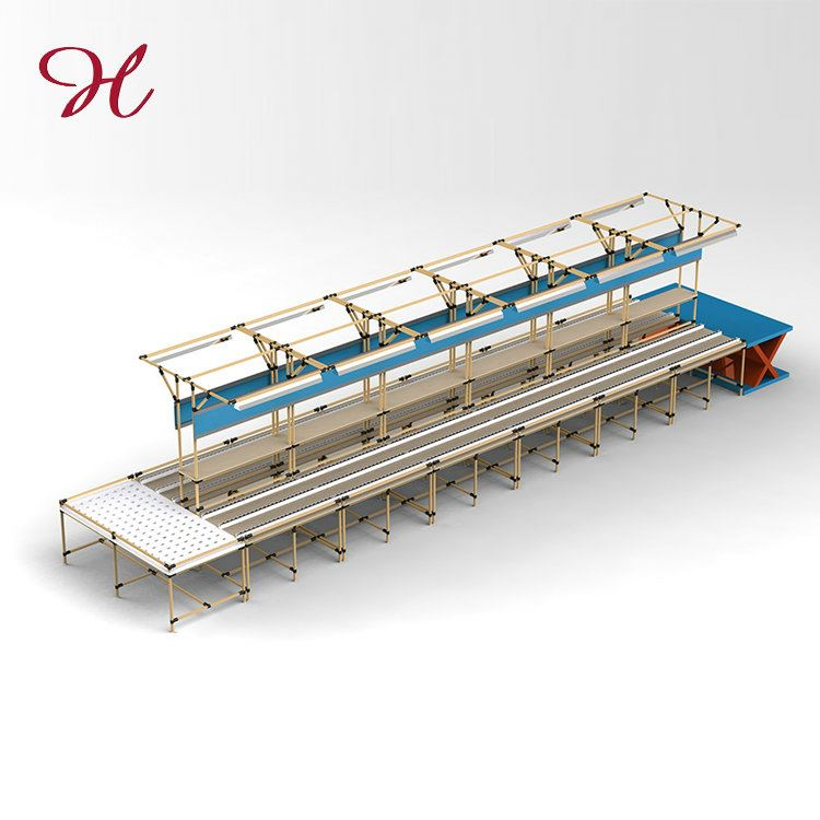 Good Price High Quality Pipe Rack Motorcycle Assembly Line